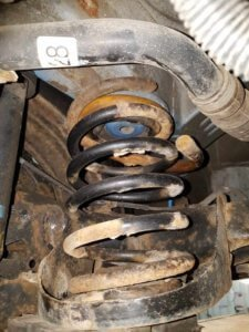 Broken Coil Spring | Multi-Point Inspection Saskatoon