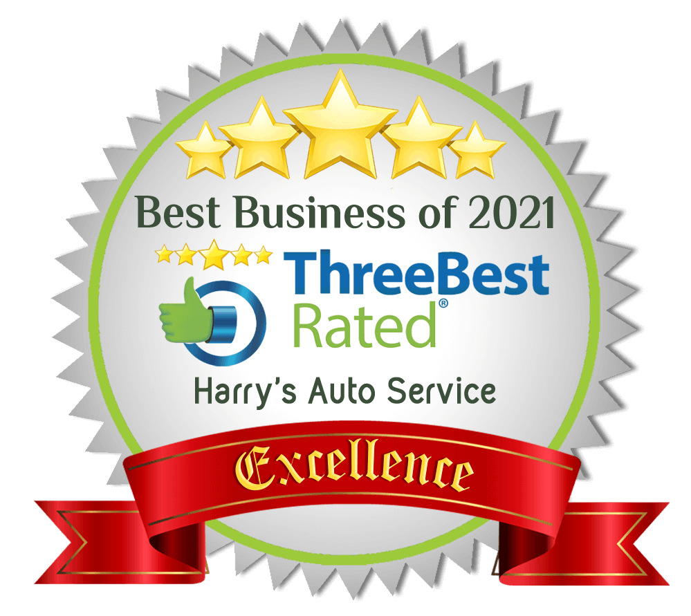 Best Business Award 2021 to Harry's Auto Serivce