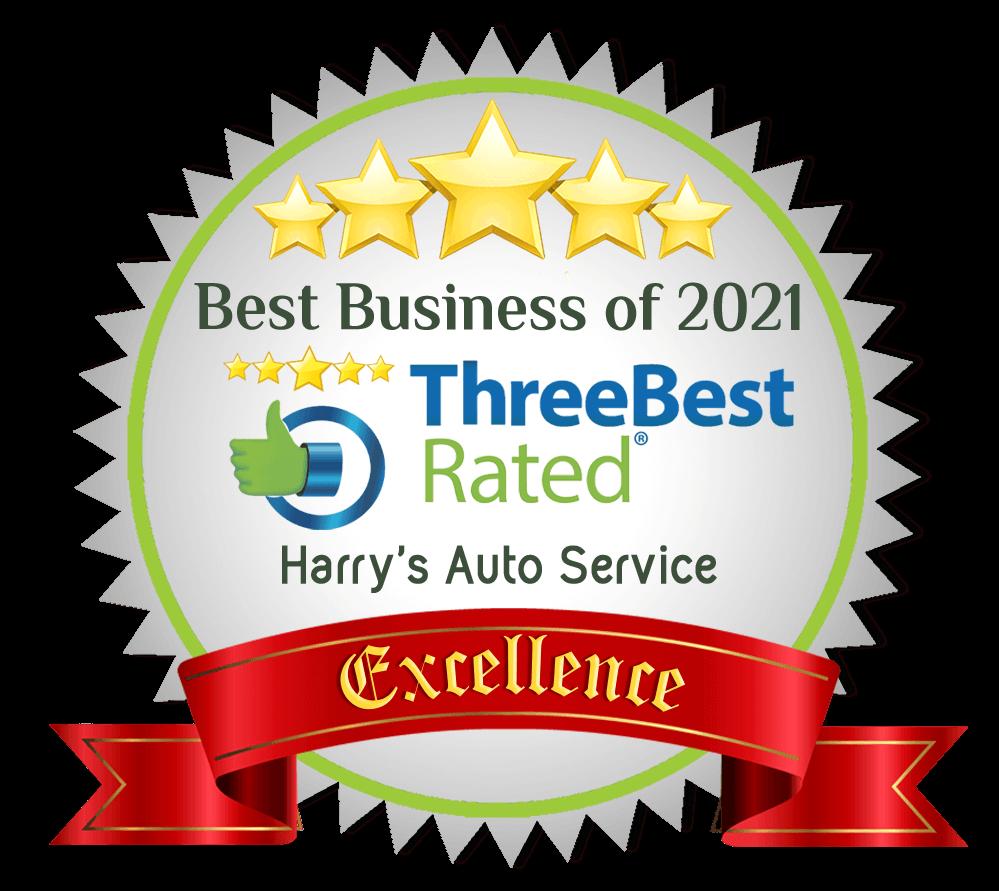 Best Business Award 2021 to Harry's Auto Serivce